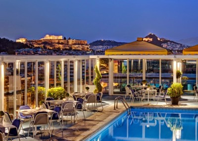 Athens Ledra Marriott  Rooftop