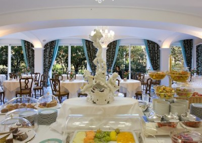 Grand Hotel La Favorita dining-Sorrento