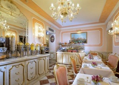 Hotel Canaletto breakfast  -Venice